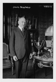 Rosenwald portrait standing