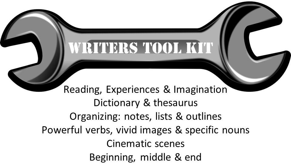 Writers Tool Kit slide 2